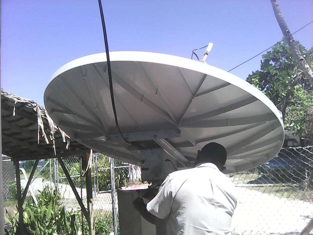 PIPA antenna at their own site 5